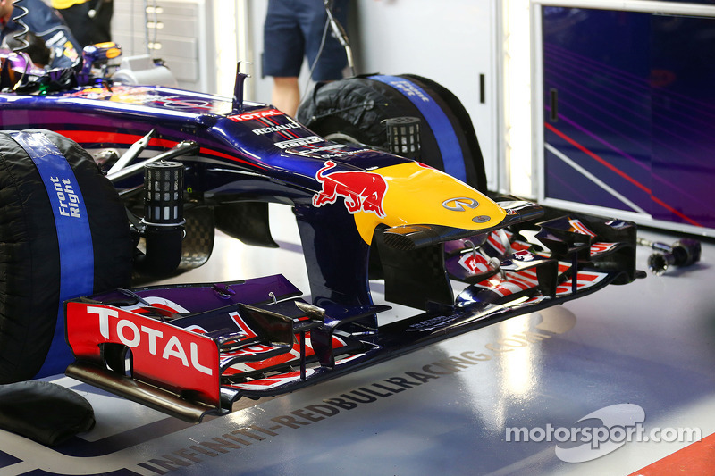 Red Bull Racing RB9 nosecone and front wing