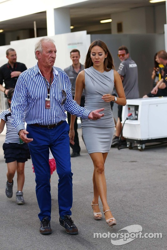 John Button, with Jessica Michibata (JPN)