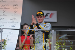 Second place Marcus Ericsson