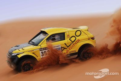 ALDO Racing tests Range Rover