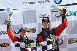 Vencedores - #61 Roush Performance Mustang Boss 302R GT: Billy Johnson, Jack Roush Jr.