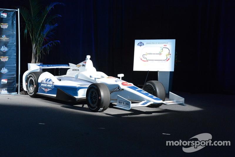 Объявление о Гран При Индианаполиса, презентация.