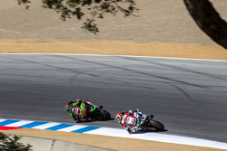 Tom Sykes and Davide Giugliano