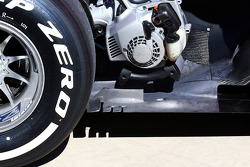 Sebastian Vettel, Red Bull Racing RB9 rear floor detail