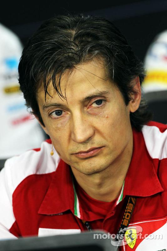 Massimo Rivola, Diretor Esportivo da Ferrari na coletiva da FIA