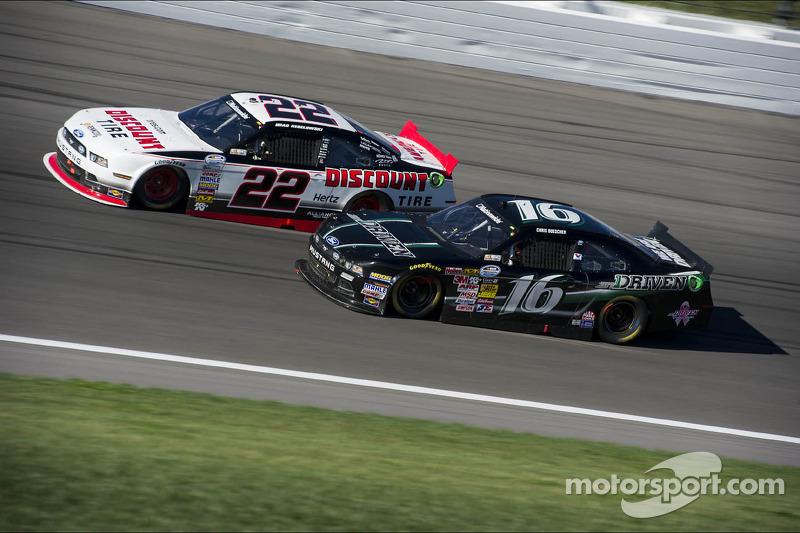 Chris Buescher en Brad Keselowski