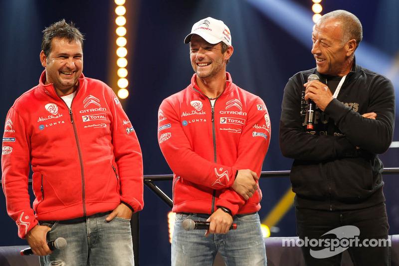 Sébastien Loeb y Daniel Elena, Citroën DS3 WRC, Citroën Total Abu Dhabi World Rally Team