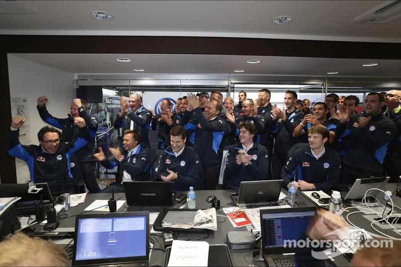 Volkswagen team celebra
