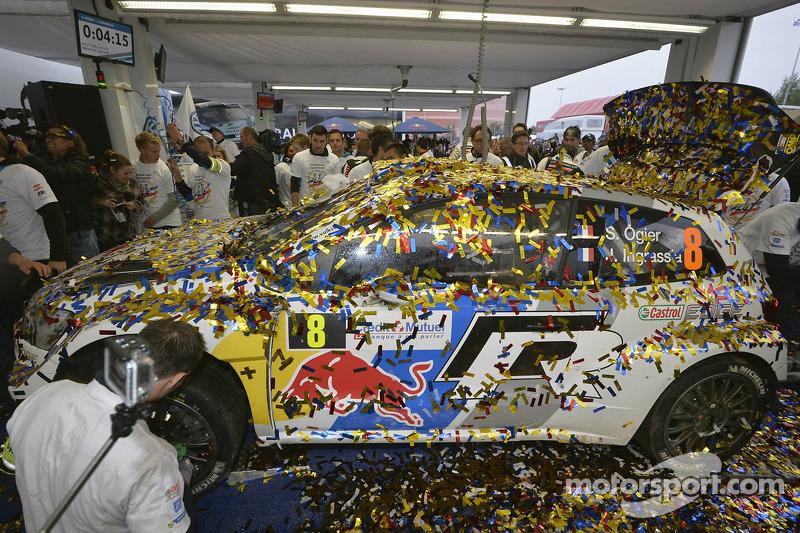 Rally ganadores Sébastien Ogier y Julien Ingrassia, Volkswagen Polo WRC, Volkswagen Motorsport