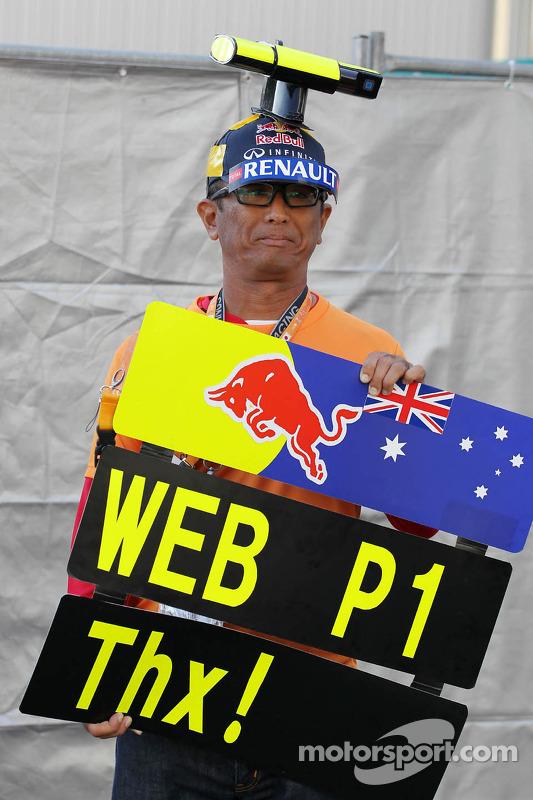 Fã de Mark Webber, Red Bull Racing