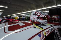 Helmet of Kyle Larson, Phoenix Racing Chevrolet