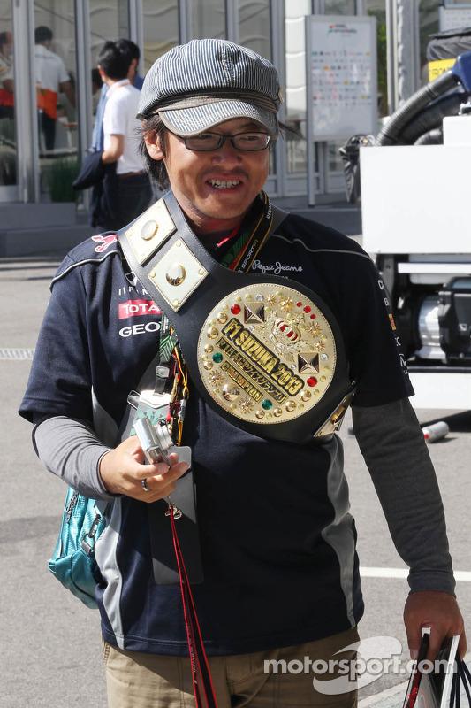 Fã da Red Bull Racing