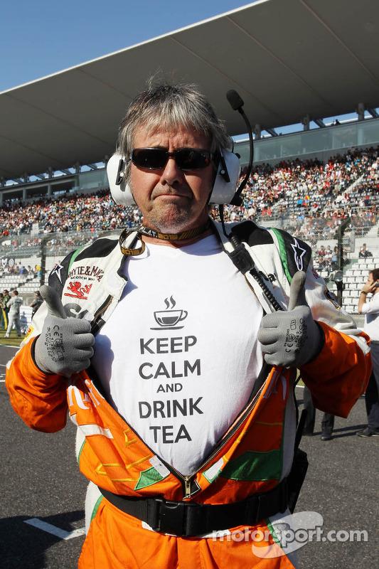 Neil Dickie, Sahara Force India F1 Team no grid