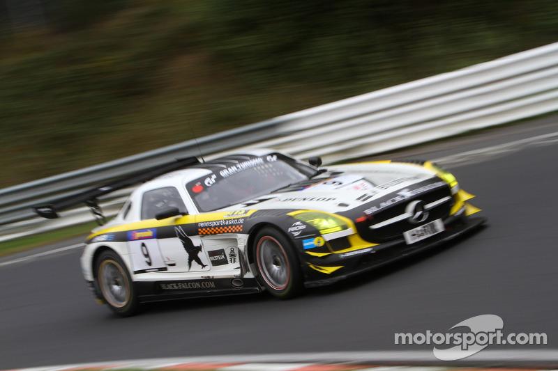 Andreas Simonsen, Marc Basseng, Black Falcon, Mercedes Benz SLS AMG GT3