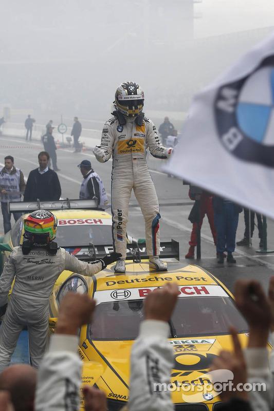 Vencedor Timo Glock, BMW Team MTEK BMW M3 DTM