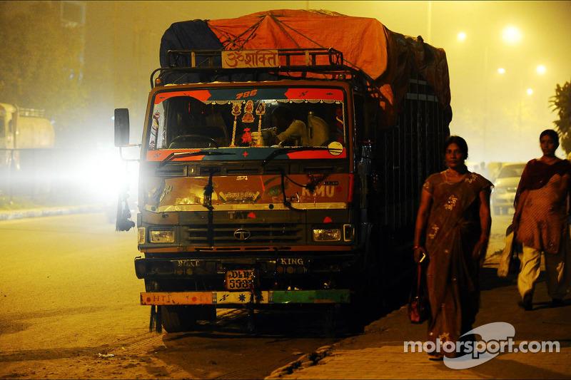 New Delhi atmosphere