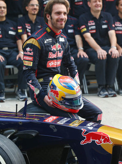 Jean-Eric Vergne, Toro Rosso team fotoshoot