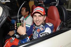 Ganador de la pole Jorge Lorenzo