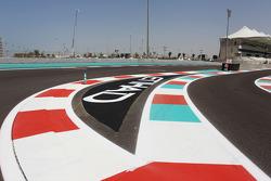 Yas Marina Circuit track walk