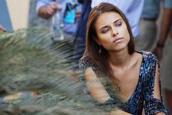 Dasha Kapustina, vriendin van Fernando Alonso, Ferrari