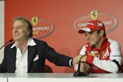 Felipe Massa e Luca di Montezemolo