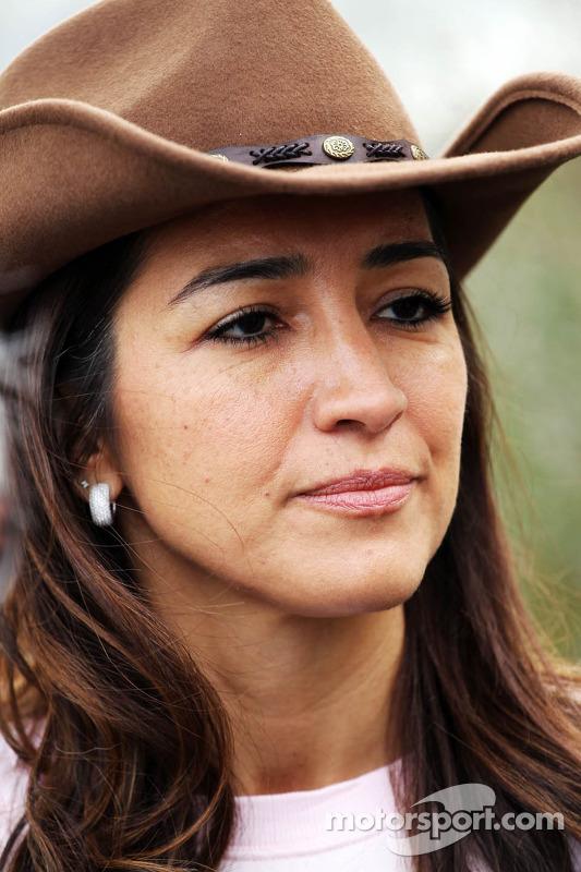 Fabiana Flosi, esposa de Bernie Ecclestone
