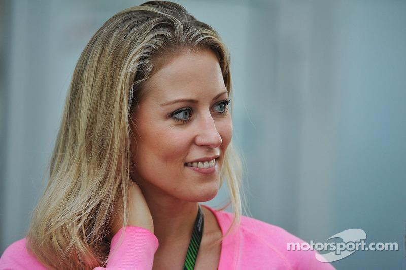 Jennifer Beck, girlfriend of Adrian Sutil