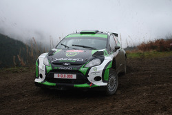 Yazeed Al Rajhi and Mathieu Baumel, Ford Fiesta RRC