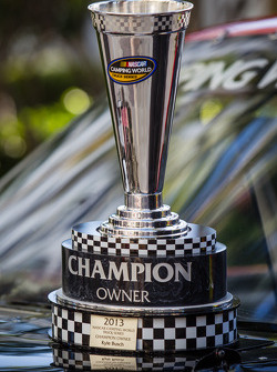 NASCAR Camping World Truck Series champion owner trophy