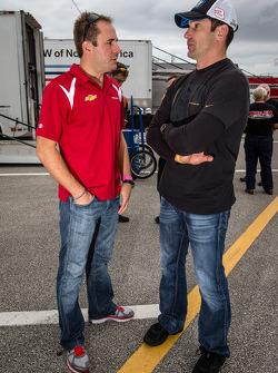 Eric Curran en Max Papis