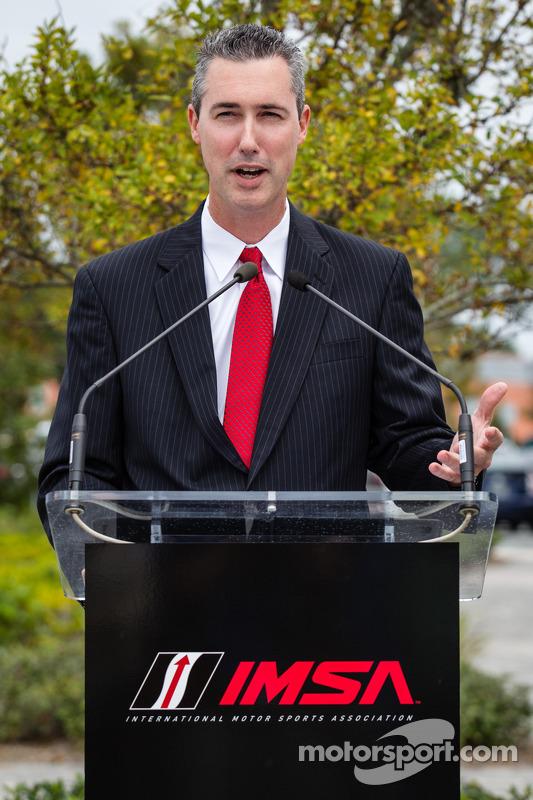 Diretor da IMSA, Ed Bennett