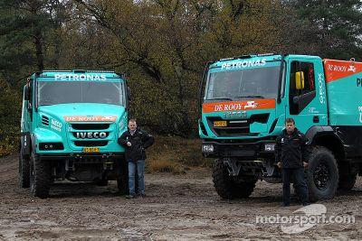 Présentation Dakar du Team De Rooy