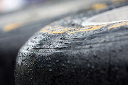 Pirelli tyre covered in rain drops. - www.xpbimages.com, EMail: requests@xpbimages.com - copy of publication required for printed pictures. Every used picture is fee-liable. © Copyright: Photo4 / XPB Images