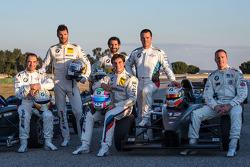 Jorg Müller; Martin Tomczyk; Timo Glock; Bruno Spengler; Dirk Müller und Maxime Martin