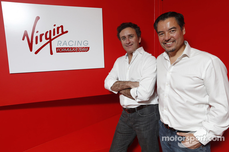 Alex Tai, Virgin Racing en Alejandro Agag, CEO Formula E