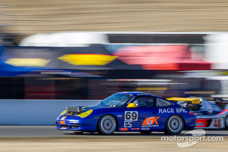 #69 Race Epic/GK Motorsports Porsche GT3 Cup: Anthony Alcoser, Jesse Combs, Gaston Kearby