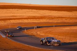 Actie tijdens de race