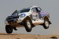 Ford Ranger testando em Namibia