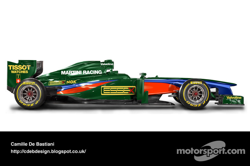 Formel-1-Auto im Retrodesign: Lotus 1979