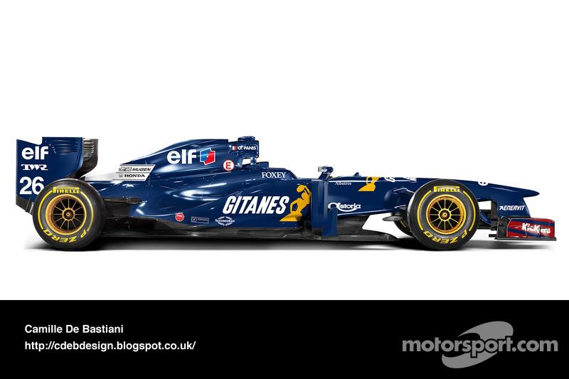 Auto Retro F1 - Ligier 1995