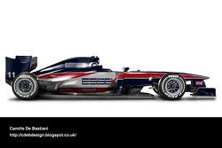 Retro F1 car - Lotus 1980