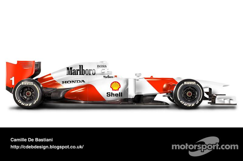 McLaren MP4/7A - 1992