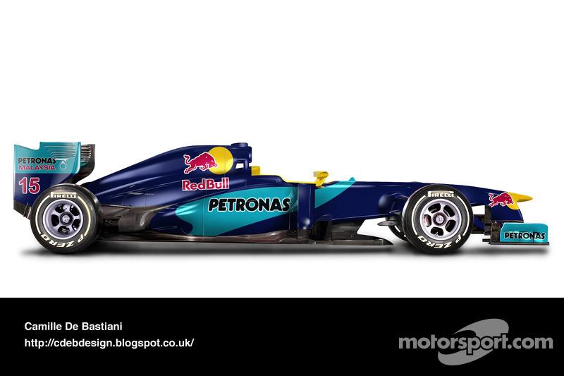 Carro de F1 retrô - Sauber 1998