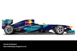 Retro F1 car - Sauber 1998