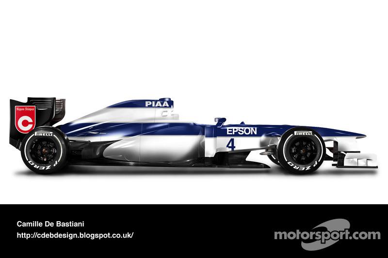 Carro de F1 retrô - Tyrrell 1990