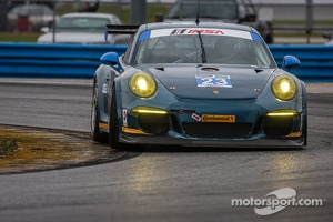 #23 Team Seattle / Alex Job Racing Porsche 911 GT America: Ian James, Mario Farnbacher, Alex Riberas, Marco Holzer