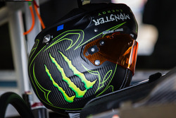 Helmet of Kurt Busch, Stewart-Haas Racing Chevrolet