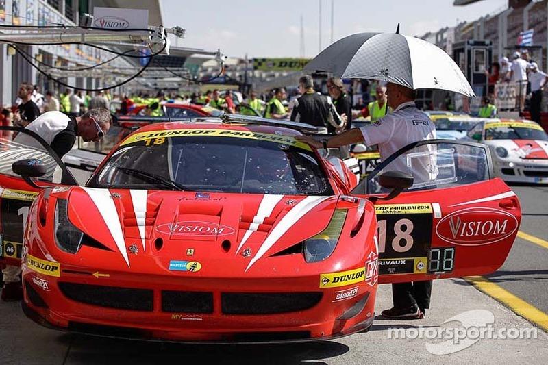 #18 VISIOM Ferrari F458 GT: Jean-Paul Pagny, Thierry Perrier, Jean-Bernard Bouvet, Benjamin Roy