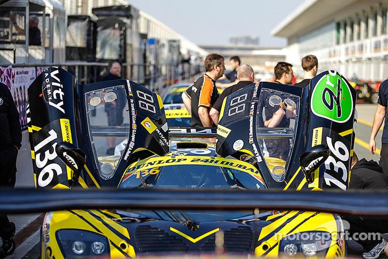 #136 Gravity Racing International Mosler MT 900 GT3: Vincent Radermecker, Andy Ruhan, Loris de Sordi