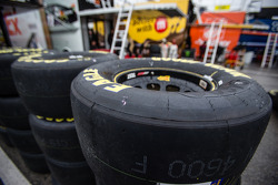 Goodyear tires in the rain